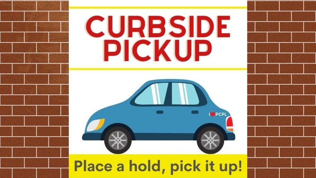 Our libraries are open but curbside pickup is still available! Click here for a look at how this service works.